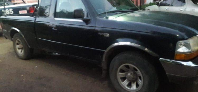 Recupera PESP vehículo con reporte de robo en Cajeme
