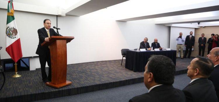 Presenta la Secretaría de Seguridad Pública ejes estratégicos en materia de seguridad pública