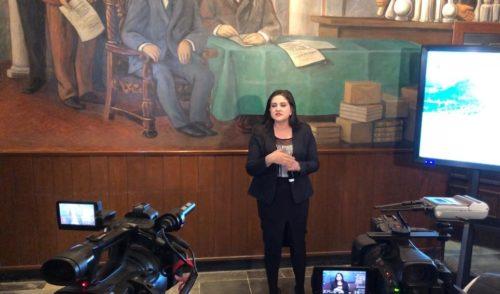 Reducción de nómina y gasto en medios anuncia Célida López para el 2019