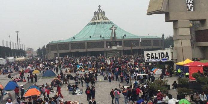 854 toneladas de basura, dejan peregrinos en la Basílica