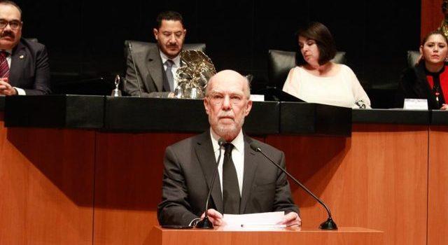 Senado aprueba a González Alcántara como nuevo ministro de la Corte