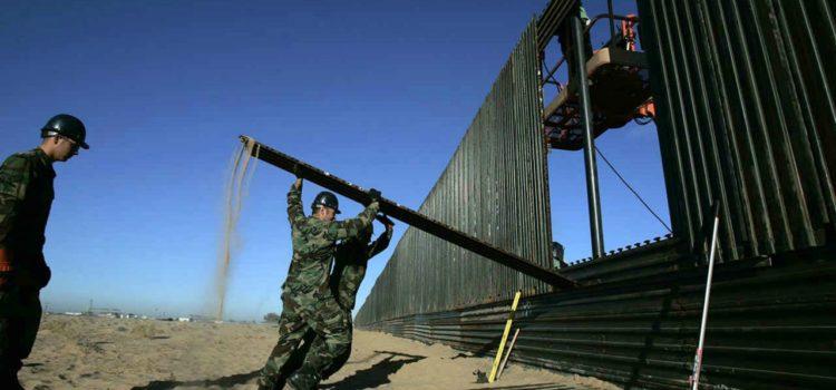 Trump advierte: Ejército construirá el muro si el Congreso no da los fondos