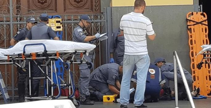 Un hombre abre fuego en una catedral de Brasil; cinco muertos