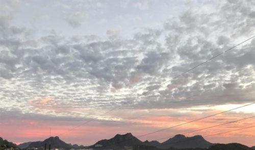 Se pronostican lluvias dispersas en las regiones noroeste y norte de Sonora