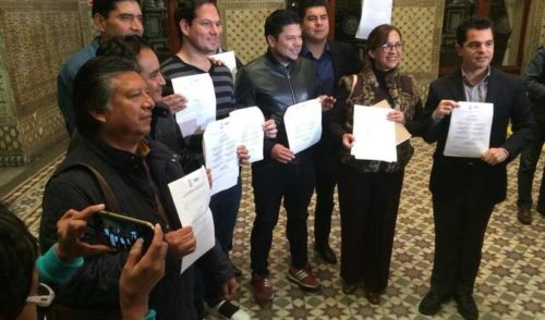 Definen terna de candidatos a la gubernatura interina de Puebla
