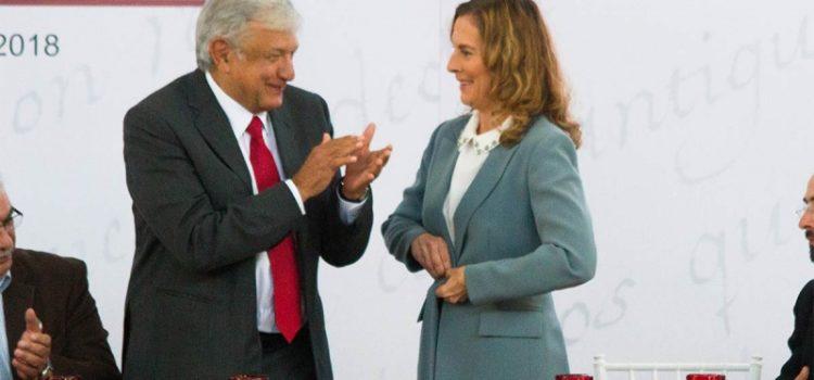 Patrimonio que poseemos es de trabajo honrado: Gutiérrez Müller