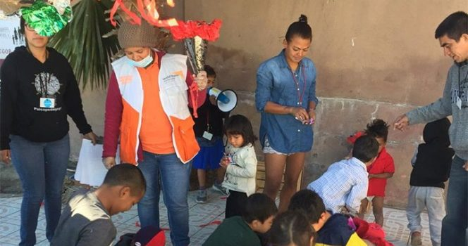 Continúa atención humanitaria a integrantes de Caravana Migrante