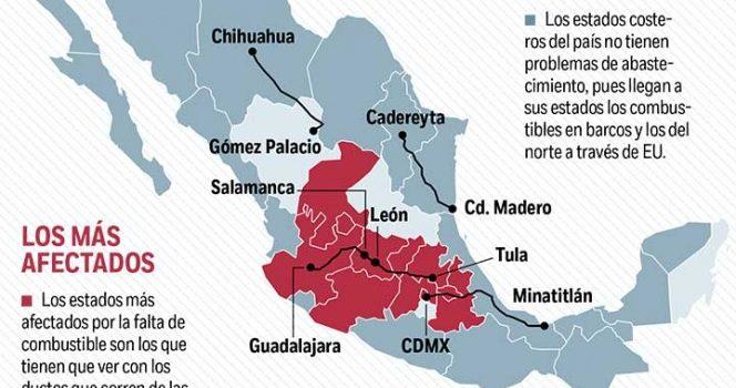 Varados, 24 buques en Veracruz; suman hasta un mes sin descargar combustibles