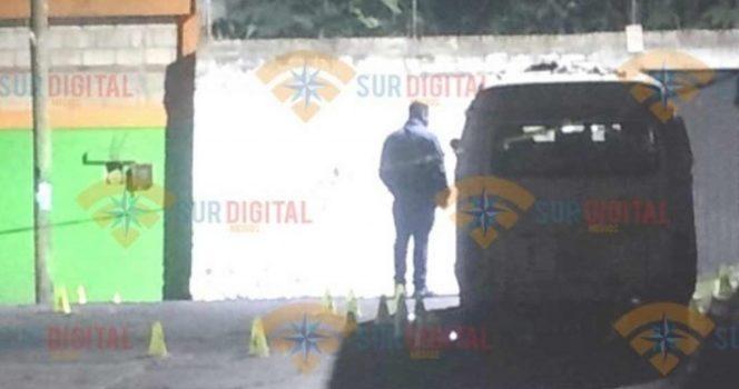 Acribillan a padre e hijo de cuatro años en Temixco, Morelos