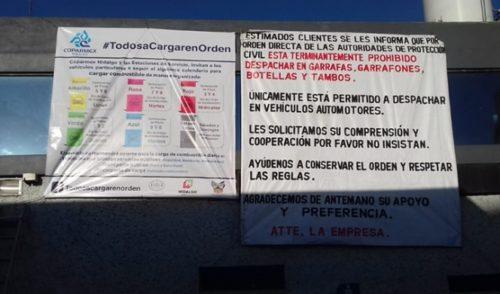 Gasolineras de Hidalgo despachan de acuerdo a engomado vehicular
