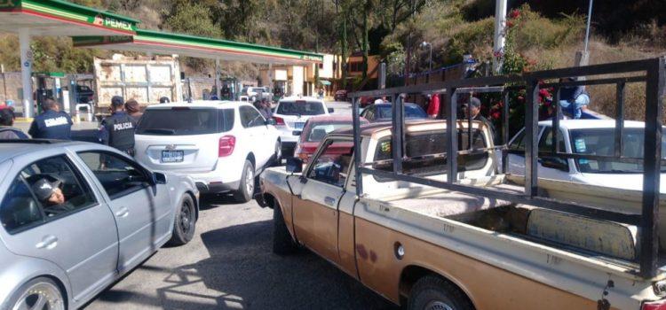 Entidades con desabasto de gasolina son de la oposición: PRI y PRD