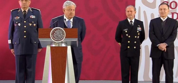 López Obrador convoca a jóvenes a unirse a la Guardia Nacional