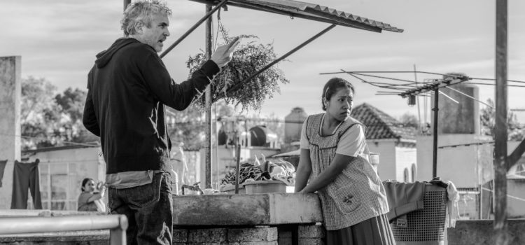Diez nominaciones al Oscar para 'Roma'