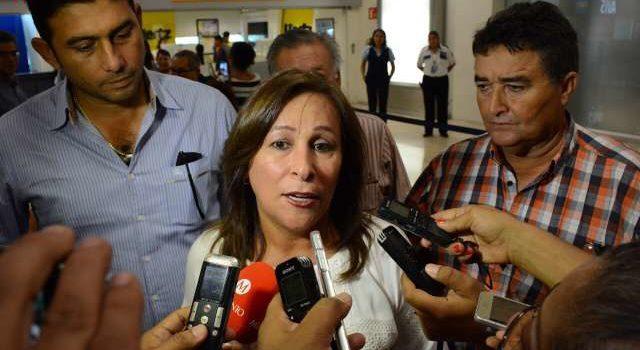 Rocío Nahle reconoce fallas en logística durante cierre de ductos