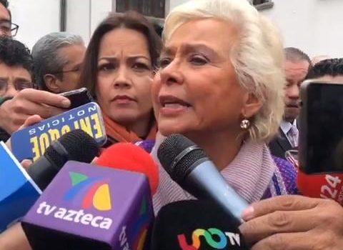 Sánchez Cordero pide tipificar como delito grave el robo de combustible