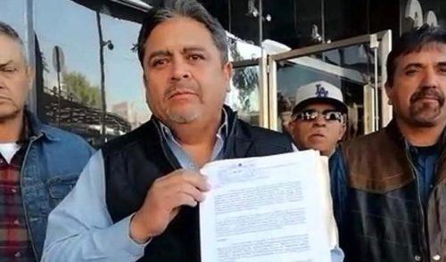 Denuncian a Napoleón Gómez Urrutia ante la PGR