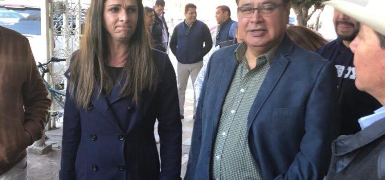 Acuerdan obras deportivas para Cajeme Guevara y Sergio Pablo Mariscal