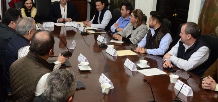 Construyen diputados priistas agenda legislativa ciudadana