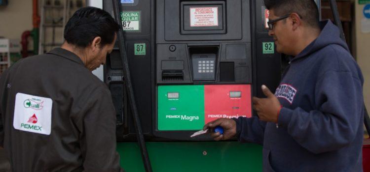 Estímulo fiscal total en gasolina Magna será de 5.4 pesos