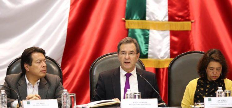 Esteban Moctezuma pide a diputados abrogar la reforma educativa