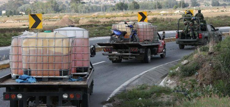 La Semar asegura 130 mil litros de hidrocarburo en cuatro estados