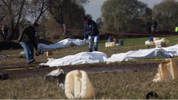 """Piden familiares que no traten a víctimas de explosión """"como animales"""""""