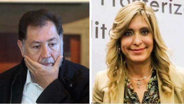 """Noroña llama """"alcaldesa pedorra"""" a Maki Ortiz de Reynosa"""