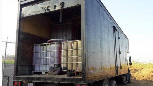Aseguran dos mil 200 litros de huachicol en la región del Istmo