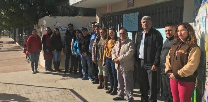 Maestros de Navojoa toman 9 escuelas de la zona 21 por inconformidad; afectan alrededor de mil alumnos