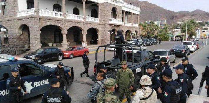 Toman control Ejército y PF de Guaymas; aplicarán acciones que se han hecho en municipios con más inseguridad