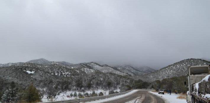 Congelados en la Sierra de Sonora con -10 grados
