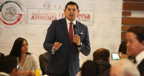 Armenta repunta en la candidatura por Puebla