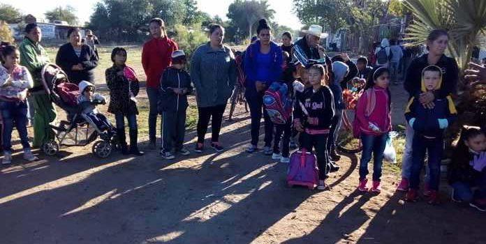 Amanecen escuelas cerradas en Huatabampo