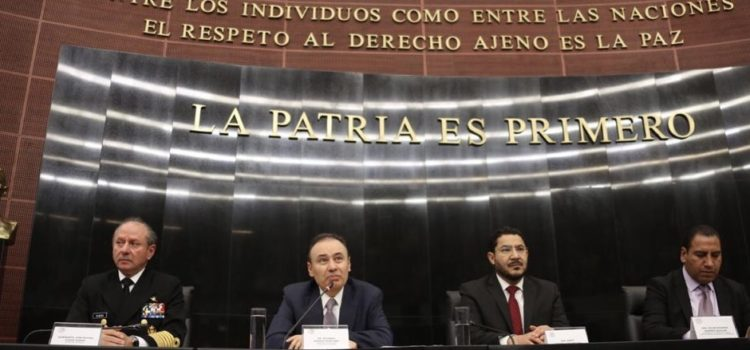 SSPC expone a los senadores la importancia de aprobar las reformas constitucionales para la Guardia Nacional