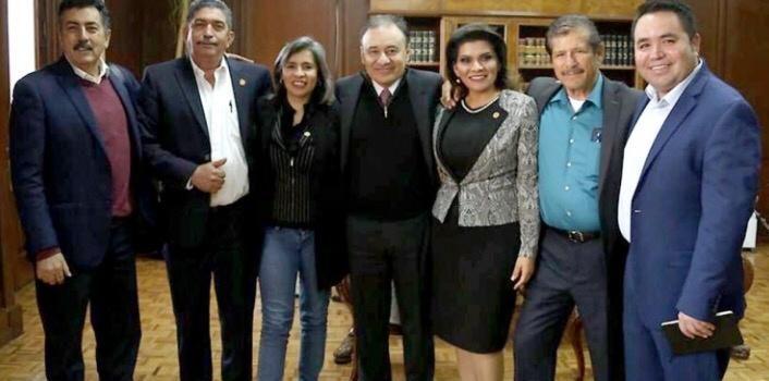 Titular de SSPC y diputados de Morena coordinan esfuerzos en beneficio de Sonora