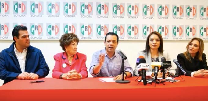 Anuncia PRI Sonora que prerrogativas de partido serán para militancia y gestión social