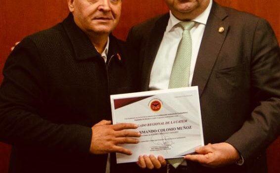 Es Luis Armando Colosio Delegado Regional de CATEM