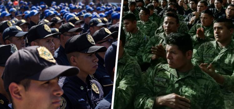 El 80% aprueba militarizar el combate contra la inseguridad