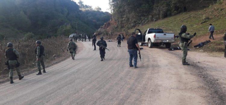 Ataque armado deja ocho muertos en Guerrero