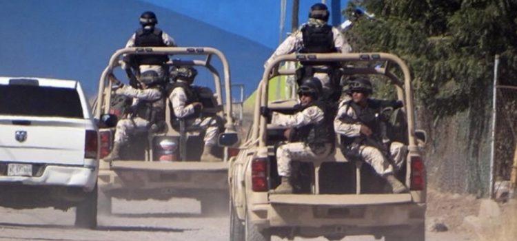 Ejército 'hace a un lado' a la Policía y toma el control en Cajeme