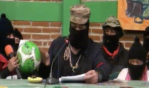 """""""Responsabilizamos al mal gobierno y sus patrones, las empresas"""" por crimen de Samir Flores: EZLN y CNI"""