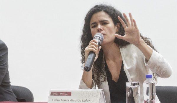 Luisa María Alcalde niega relación de su padre con huelgas en Tamaulipas
