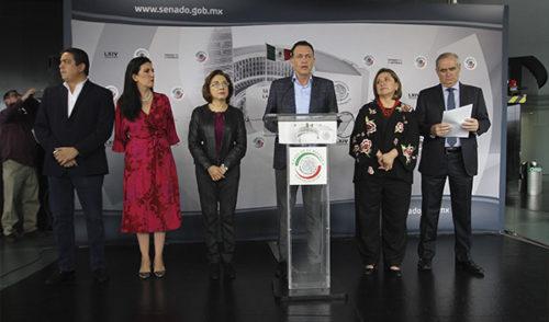 Senadores del PRI y PAN condicionan respaldo a proyecto de Guardia Nacional