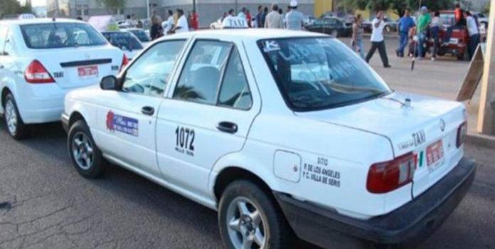 Podría desaparecer labor de taxis en Navojoa