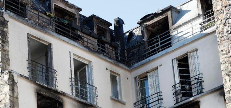 Incendio en París deja diez muertos