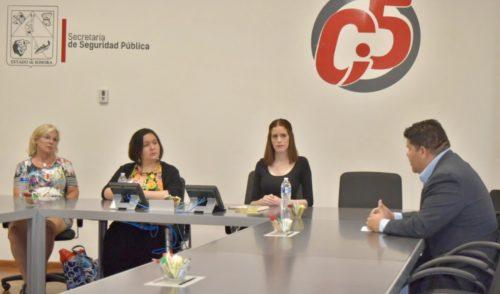 Visita cónsul de Canadá en México instalaciones del C5i