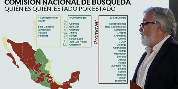 Sonora, sin Comisión para desaparecidos
