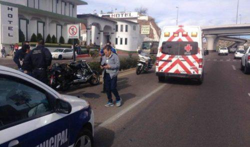 Conductor provoca cuatro choques y un atropellamiento; se da a la fuga