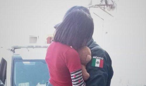 Atiende DIF Cajeme a menor resguardada por policías municipales