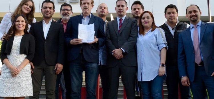 Diputados del PAN tramitan amparo; piden medidas de seguridad en San Lázaro